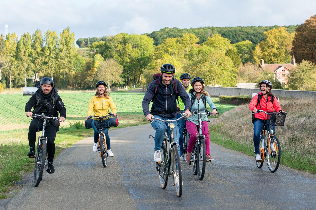 Patrick PIERRE - Vallée de l'Aigre à vélo