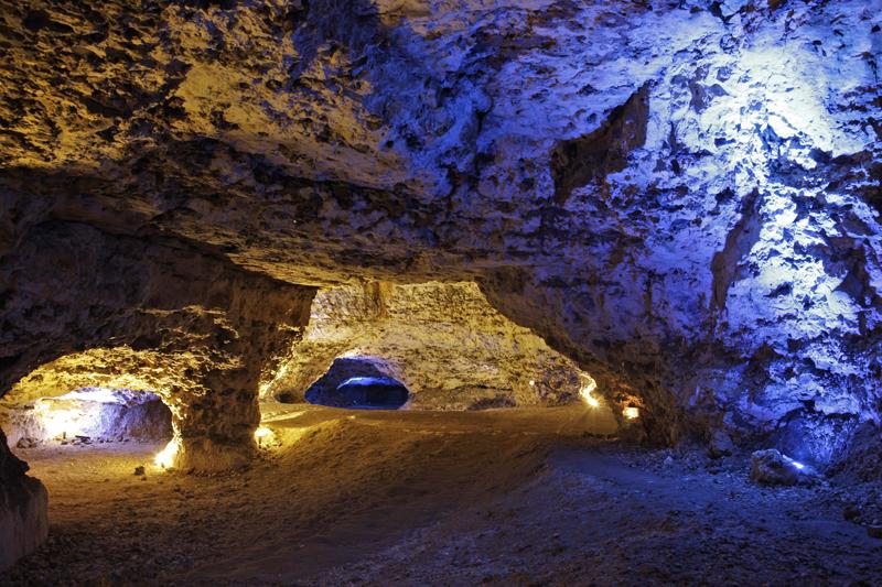 © Patrick Forget - www.sagaphoto.com - Les Grottes du Foulon - Châteaudun