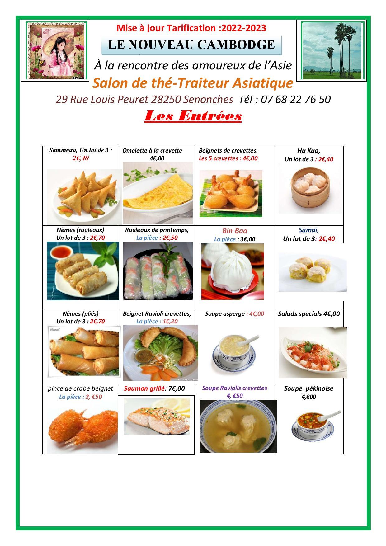 le nouveau cambodge - Menu-Restaurant Le Nouveau Cambodge à Snonches 1-page-001