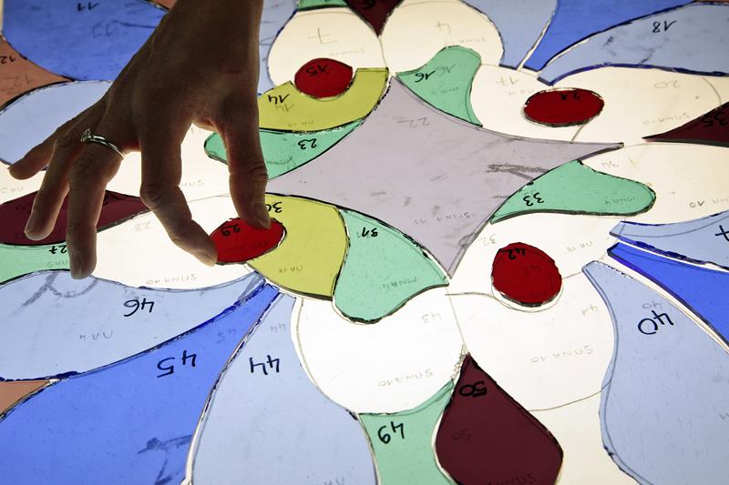 Patrick Forget - www.sagaphoto.com - Stage de création de vitrail