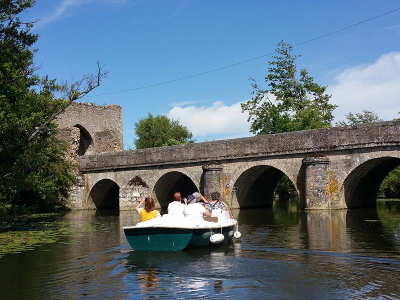 Capitainerie de Bonneval - Bateaux électriques sur le Loir