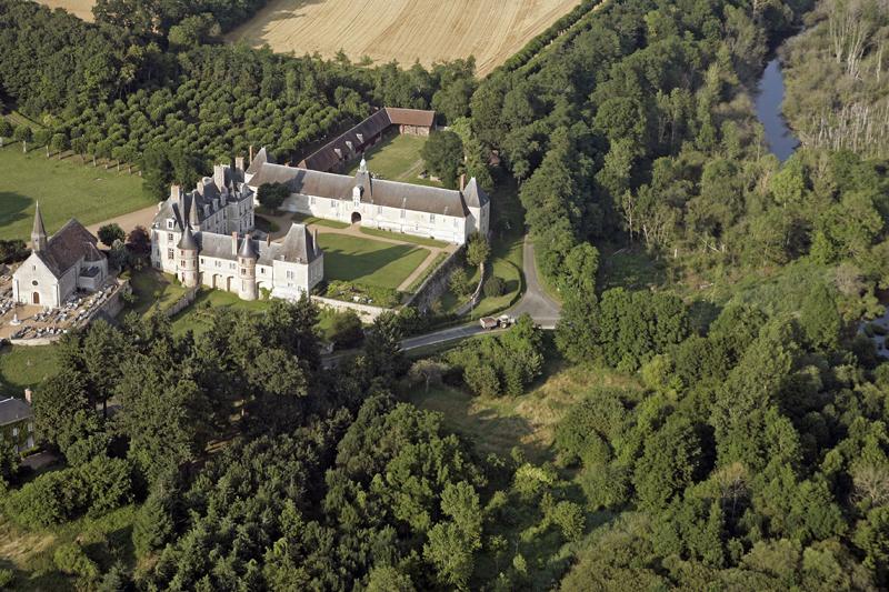 © Patrick FORGET - www.sagaphoto.com - Château de Moléans