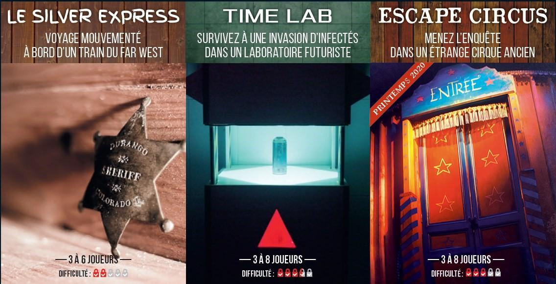 Escape time Chartres - Salles-Escape-Time