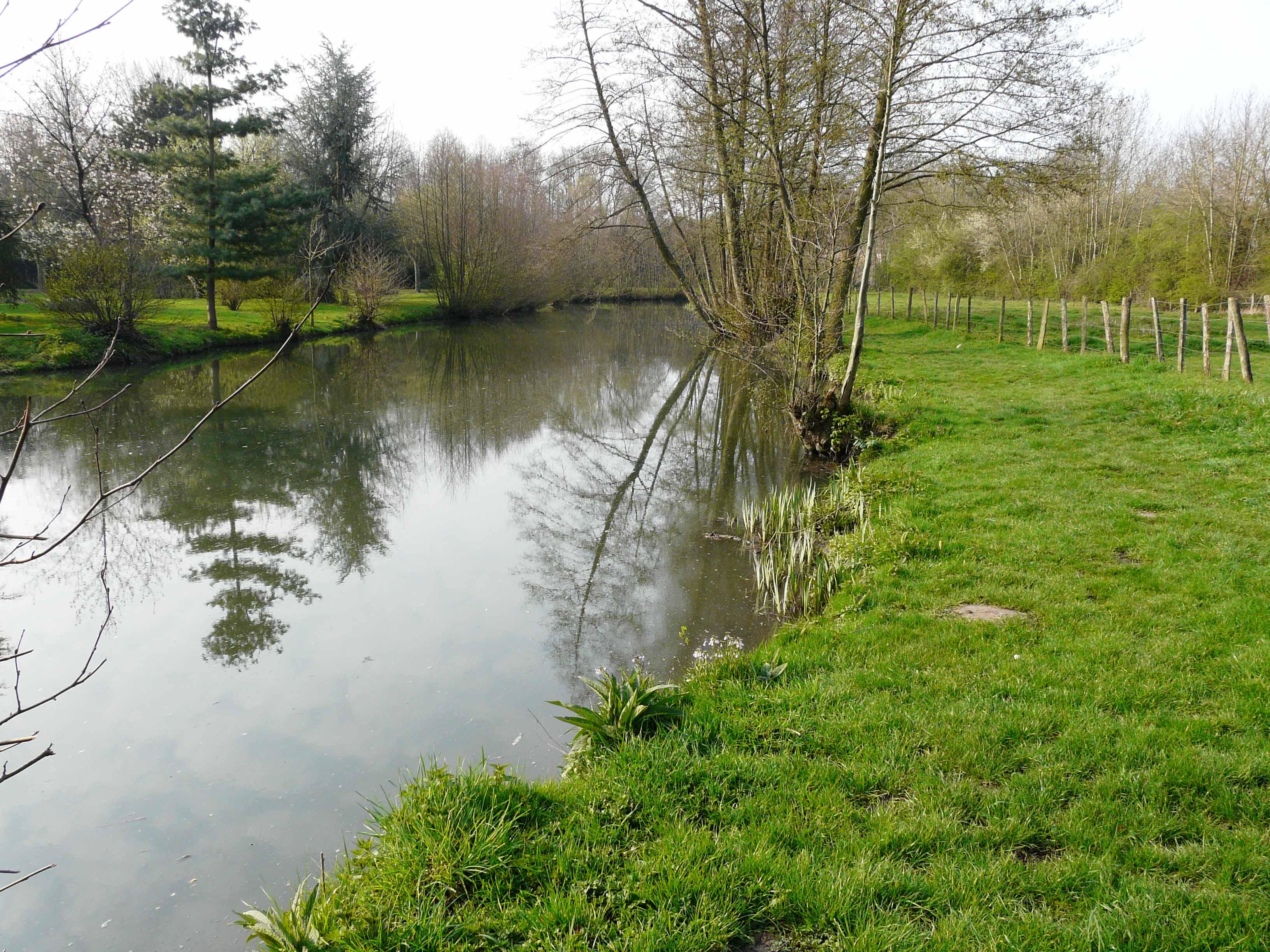 Parcours de la rivière Ozanne 2ème catégorie - Parcours de la rivière Ozanne 2ème catégorie