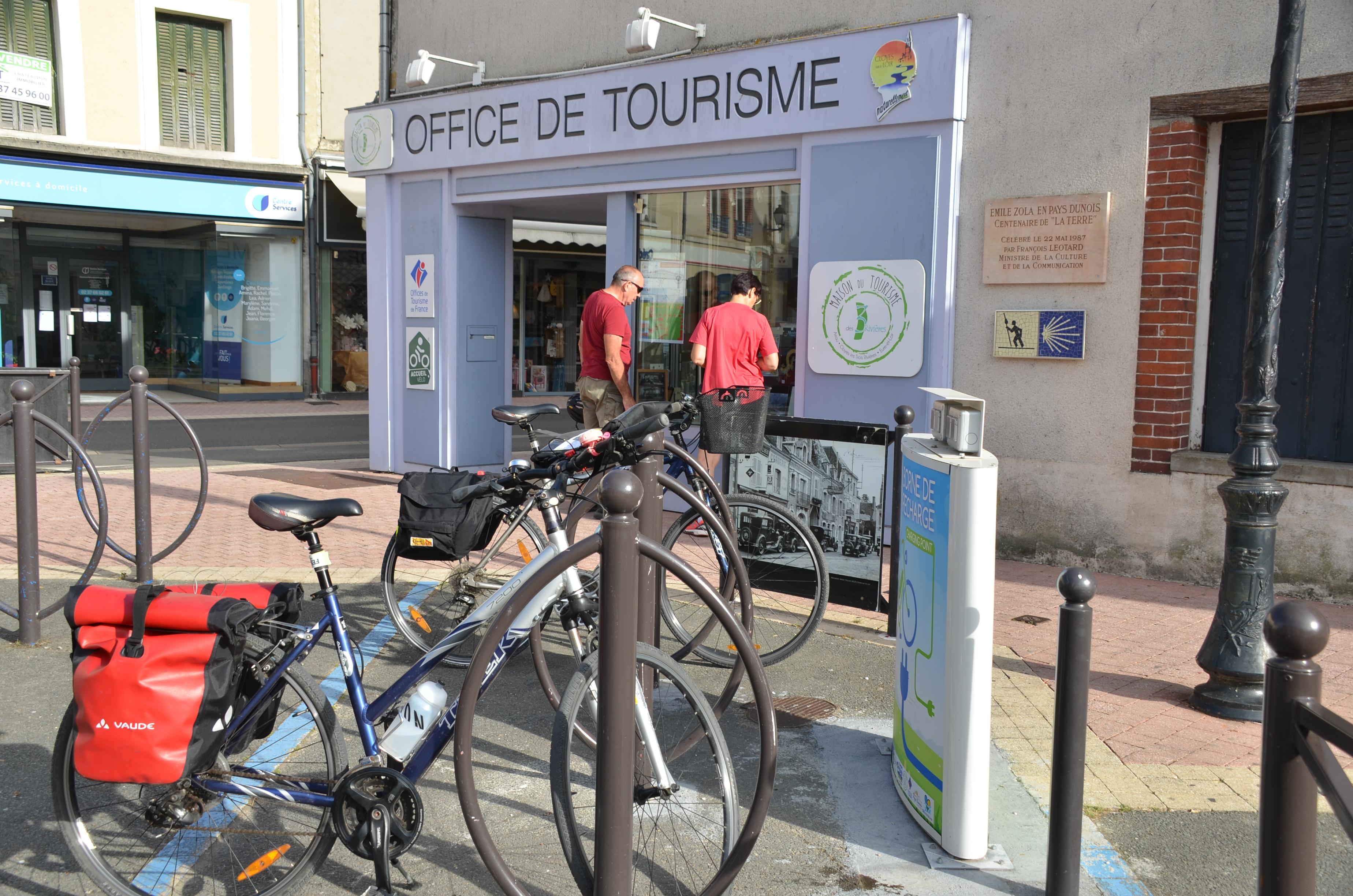 Office de Tourisme de Châteaudun - Location de vélos Cloyes