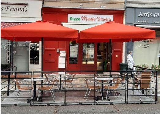 Pizza Monte Bianco - Pizza Monte Bianco