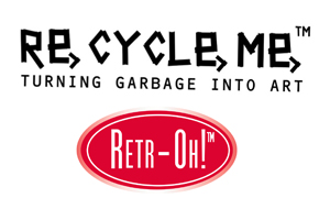RE-CYCLE-ME och RETR-OH! , FUN2GIVE
