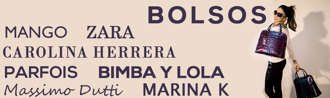 Bolsos Bimba y Lola, Parfois, Marina K, Tous, Carolina Herrera