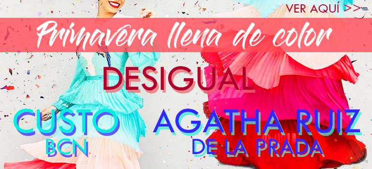 Desigual, Custo y Agatha Ruiz de la Prada