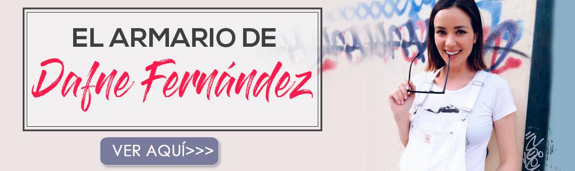 Descubre el estilo de la actriz y presentadora Dafne Fernández