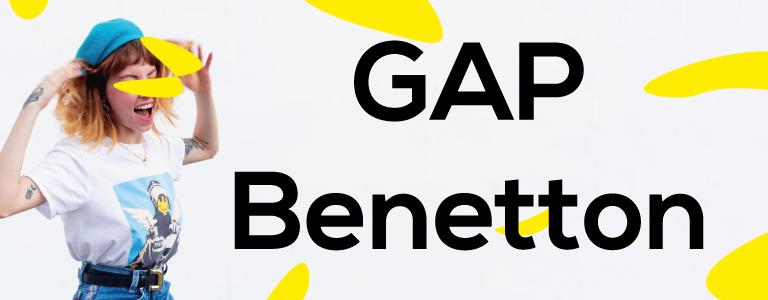 GAP y Benetton