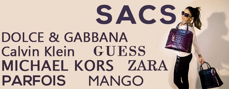 Sacs Dolce&Gabbana, Michael Kors, Calvin Klein, Parfois, Zara
