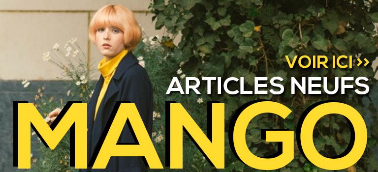 Articles neufs Mango pas cher