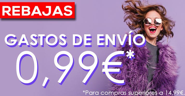 Rebajas: Gastos de envío 0,99€