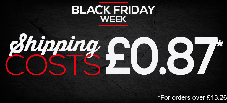 Black Week. Shipping costs 0,87