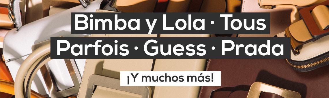 Bimba y Lola, Tous, Parfois, Guess, Prada... ¡Y muchos más!