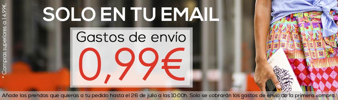 0,99€ gastos de envio