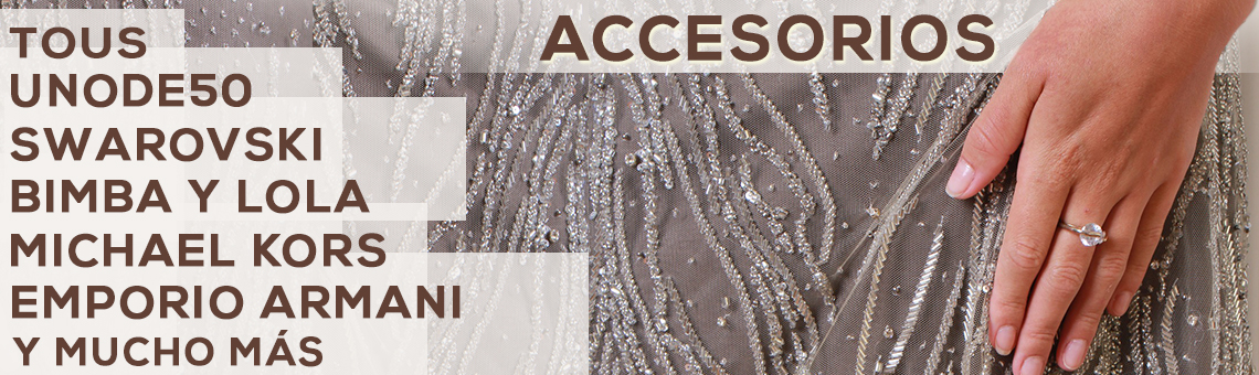 Accesorios Tous, 1 de 50, Swarovski, Emporio Armani...