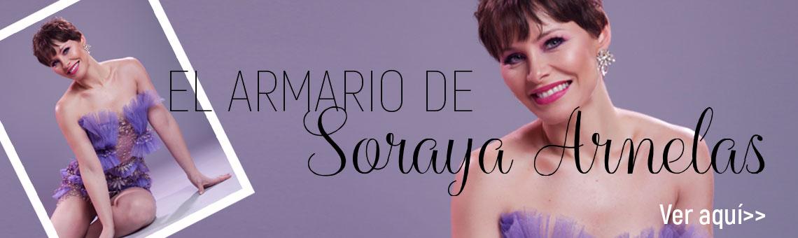 El armario de la cantante Soraya Arnelas