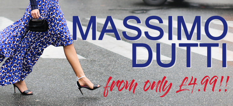 Massimo Dutti from only £4.99