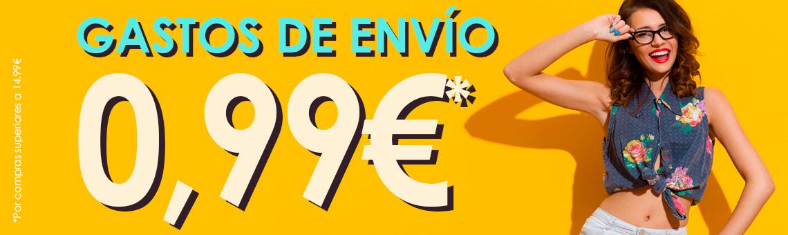 GAstos de envío a 0,99€