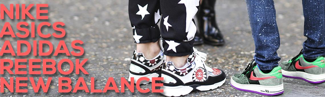 Calzado deportivo: Asics, New Balance, Nike, Adidas...