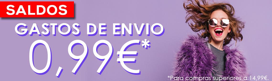 Saldos: Envios 0,99€*