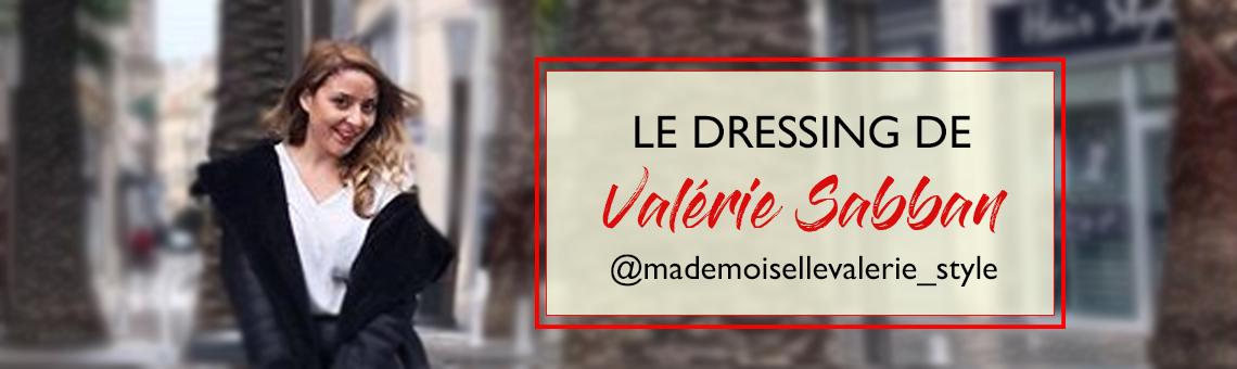 Le dressing de Valérie Sabban