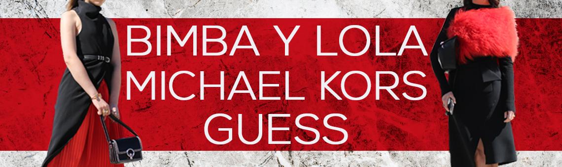 Bimba y Lola, Michael Kors & Guess