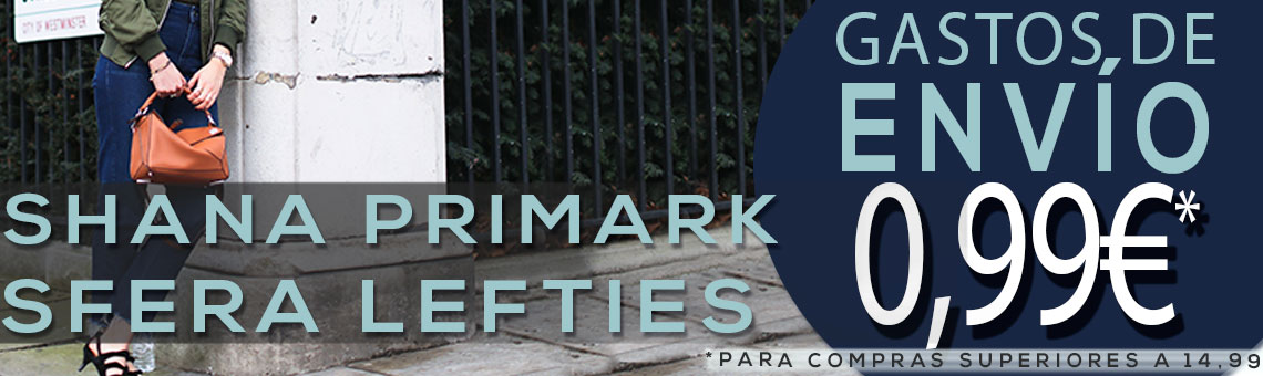 Sáb: Sfera, Primark, Shana, Lefties on line