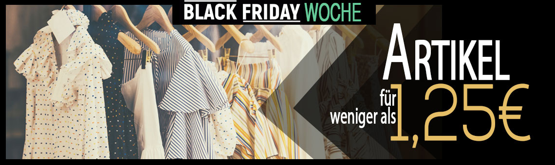 BLACK FRIDAY 1,25€