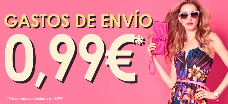 Domingo: GAstos de envío a 0,99€*