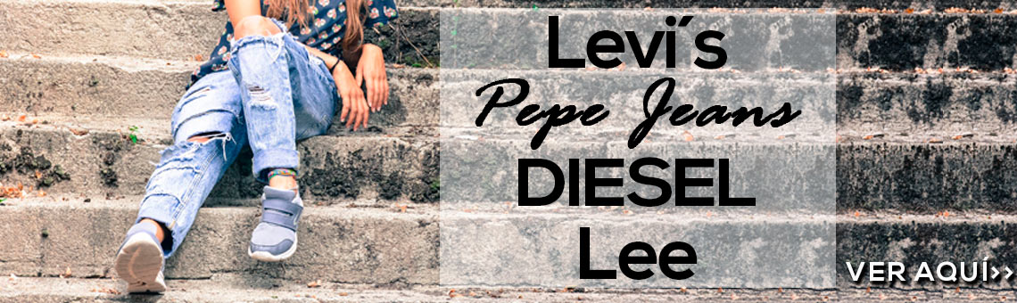 Compra Lev'is, Pepe Jeans, Diesen, Lee... online