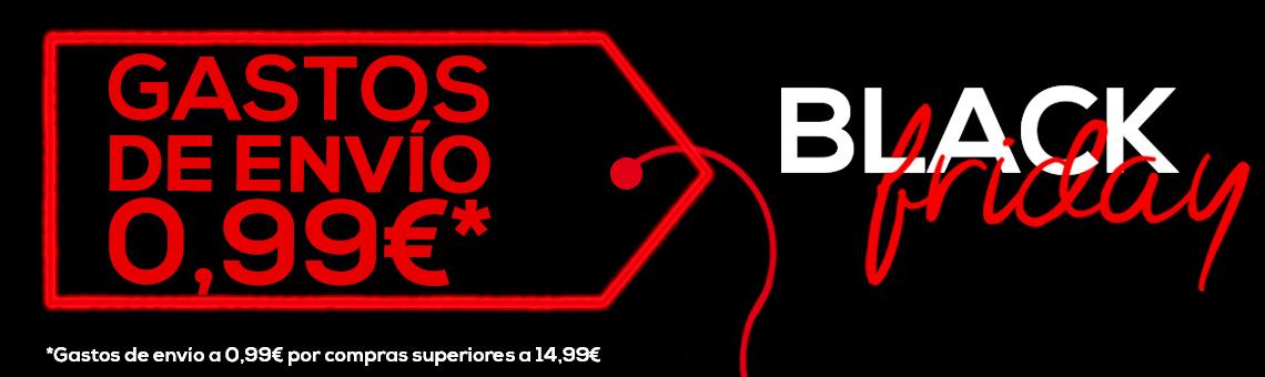 Black Friday: Gastos de Envío a 0,99€*