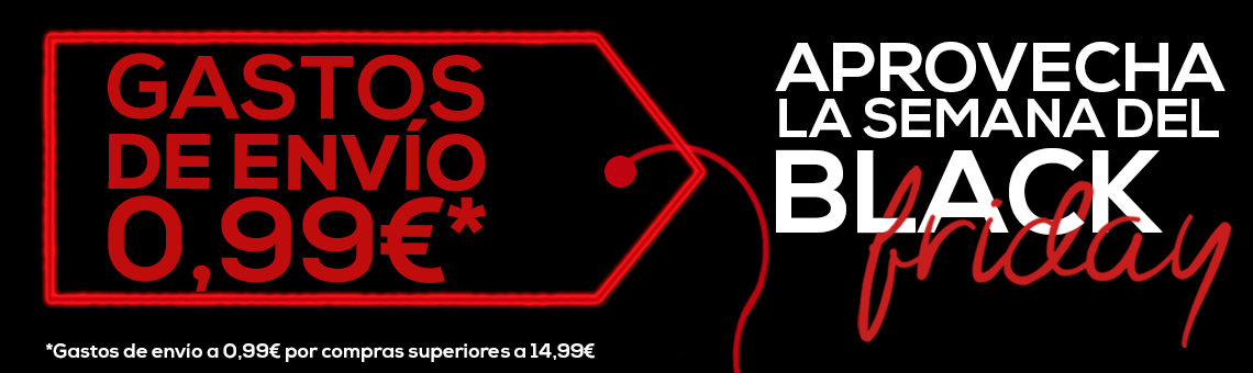 Black Friday: Gastos de Envío a 0,99€*