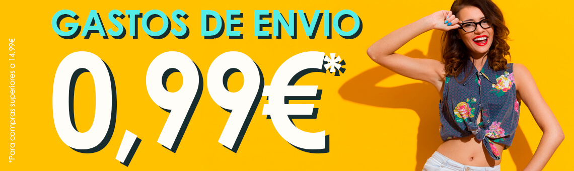 GAstos de envio a 0,99€