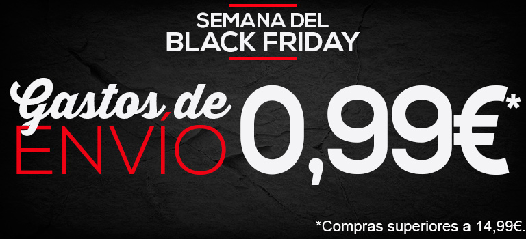 Semana del Black Friday en Micolet, envíos a 0,99€