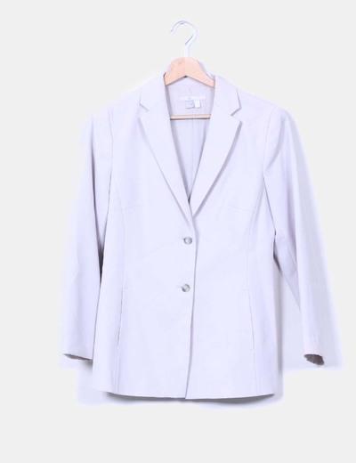 Blazer gris clara Zara