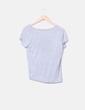 Camiseta de manga corta gris jaspeada Easy Wear