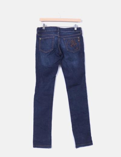 Pantalon denim oscuro