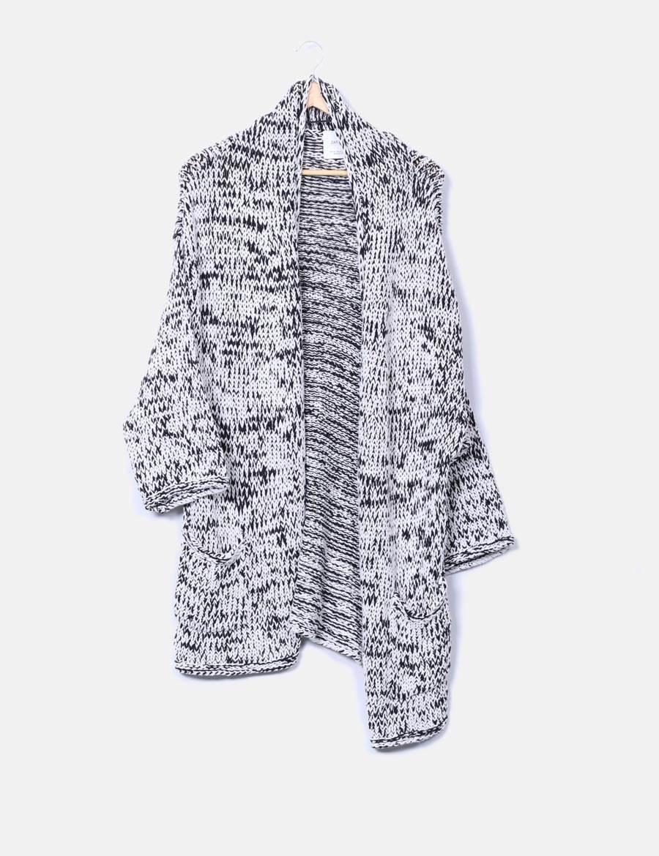 Mujer Cárdigan Zara y baratos Abrigos Chaquetas blanco y online de VUqSzMGp