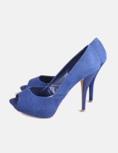 descuento Zara Con 85 Texturizados Azules Micolet Zapatos Tacón SvqSXrR 5adf5bed349f