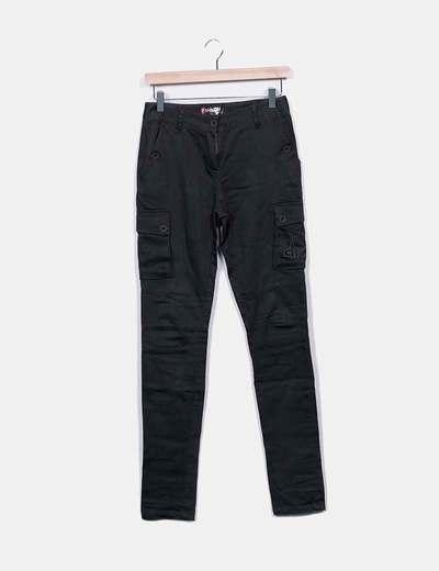 Pantalon kaki à poches Desigual