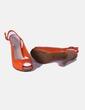 Sandales orange Carolina Boix
