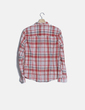 Camisa cuadros rojos manga larga Massimo Dutti
