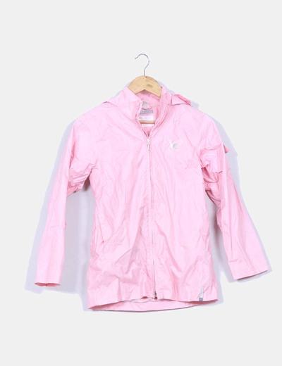 Chubasquero rosa palo Domyos