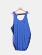 Vestido deportivo oversize azul texturizado Adidas