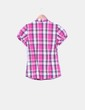 Camisa rosa de cuadros NoName