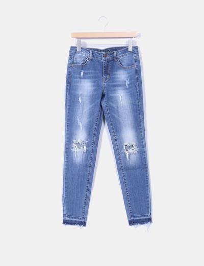 Jeans con rotos VILA
