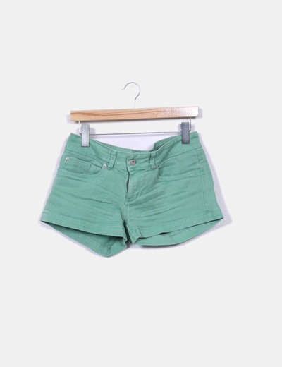 Short verde efecto envejecido Pepe Jeans